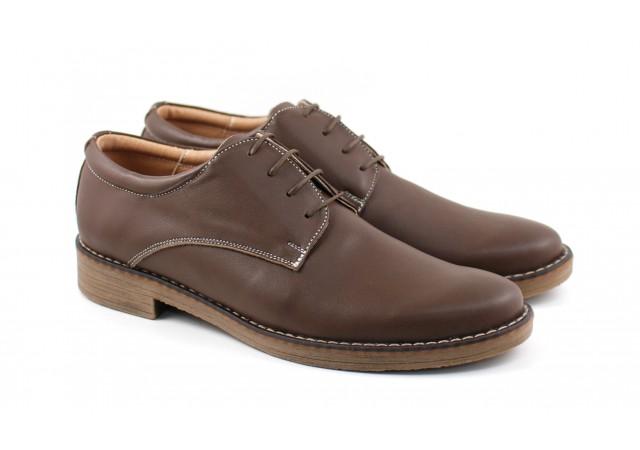 Pantofi barbati casual din piele naturala box 859MD