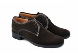 Pantofi copii (baieti) din piele naturala, casual - eleganti P80B