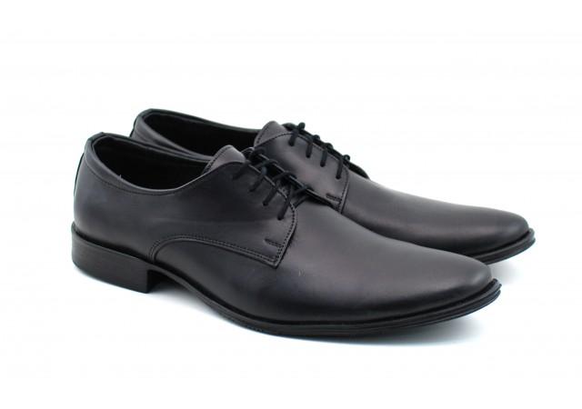 Pantofi barbati eleganti din piele naturala box - MARCONCLASS