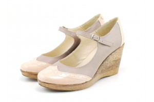 Pantofi dama casual din piele naturala - Made in Romania ROVI27BEL