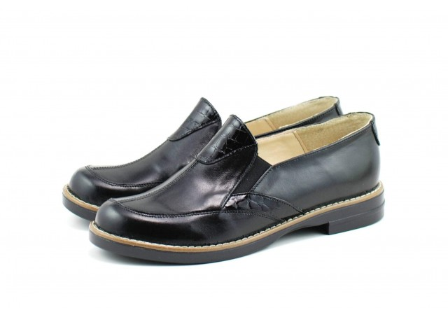 Pantofi dama casual din piele naturala - Made in Romania ROVI28N