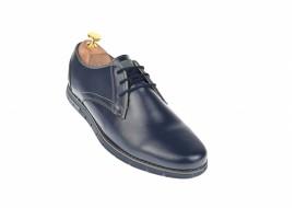 Oferta marimea 41 Pantofi barbati casual din piele naturala maro - LUCYANIS L1010BLMBOX