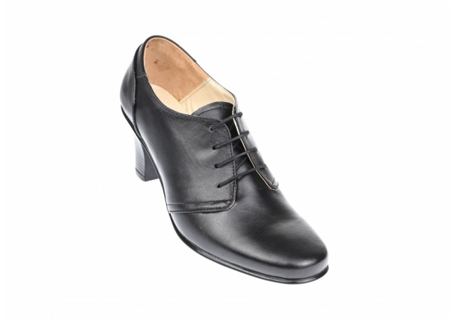 Pantofi dama din piele naturala box - PALMA