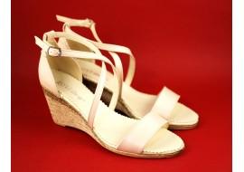 Oferta marimea 37 - Sandale dama din piele naturala bej - Made in Romania - LS7BEJ