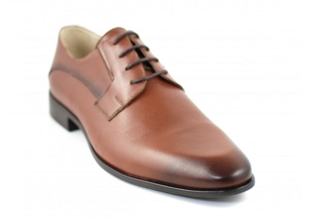 Pantofi barbati eleganti din piele naturala maro - 085MBOX