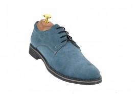 Pantofi barbati casual, eleganti din piele naturala intoarsa - PA3GRI