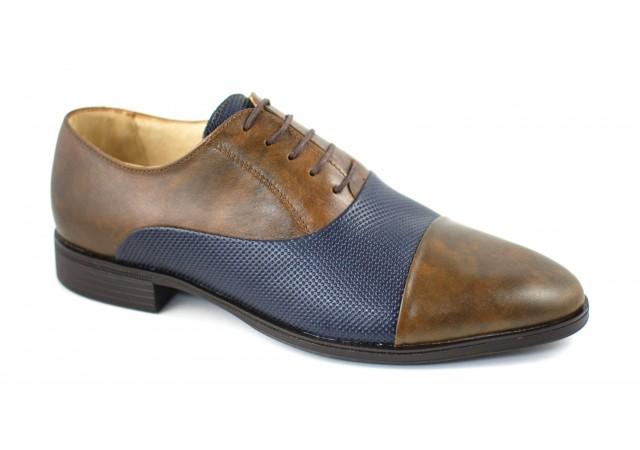 Pantofi barbati lux - eleganti din piele naturala - cod 106MBL