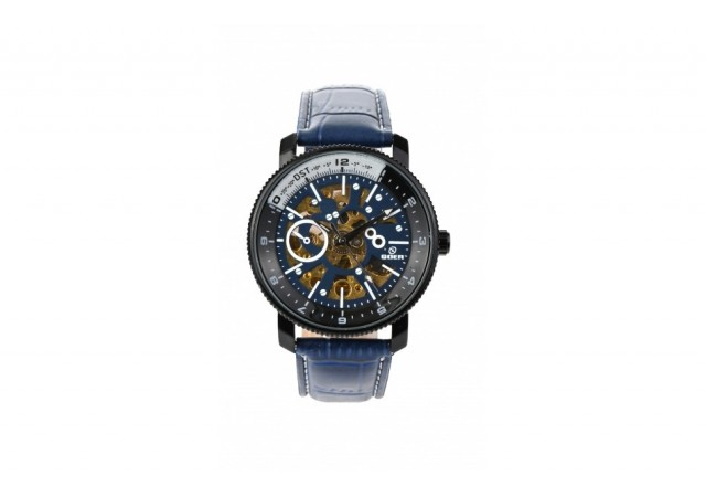 Ceas automatic barbati, business, elegant GOER BLUE G2120BL