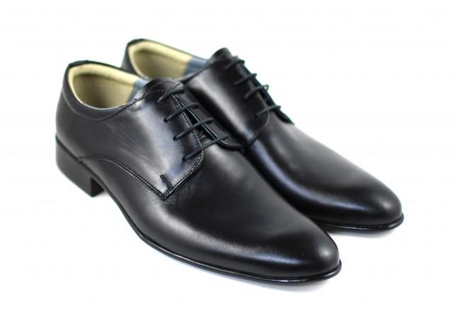 Pantofi barbati eleganti, office din piele naturala - ENZO CLASS