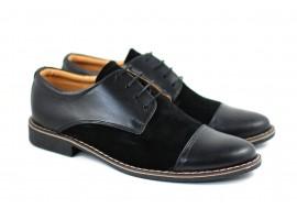 Pantofi barbati eleganti din piele naturala - PANSN