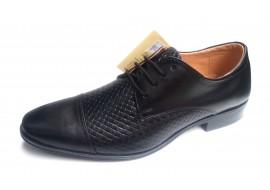 Pantofi barbati casual, eleganti din piele naturala - 859NBOX2