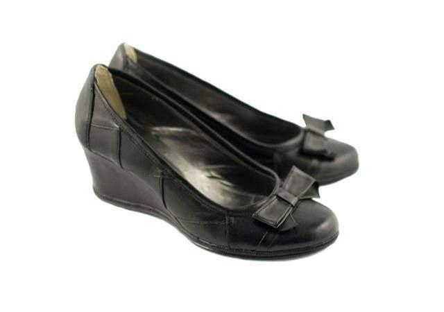 Pantofi dama,casual, din piele naturala, negri -  P1761N