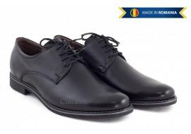 Pantofi barbati casual din piele naturala box - Cod: 335NBOX