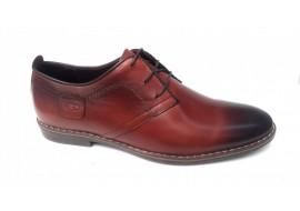 Pantofi barbati casual din piele naturala maro - SUCEV240M