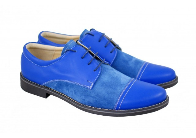 Pantofi barbati casual, eleganti din piele naturala - 858AL