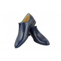 Pantofi barbati eleganti din piele naturala cu siret ENZO B