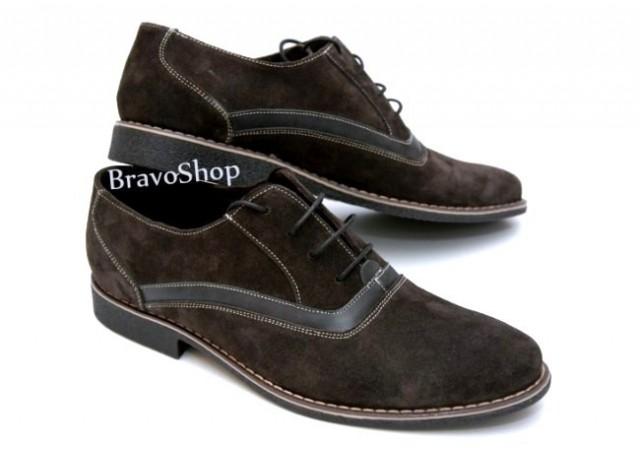 Pantofi barbati casual, eleganti din piele naturala - P34M2