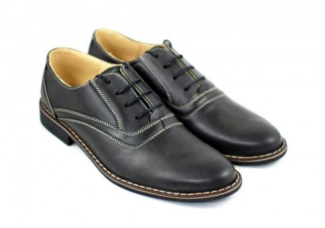 Pantofi barbati eleganti, casual piele naturala - P37NA