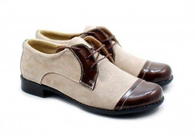Pantofi dama piele naturala (Intoarsa) maro casual-eleganti P10M3