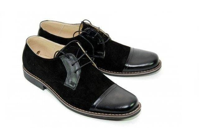 Pantofi barbati casual, eleganti din piele naturala - P34NN