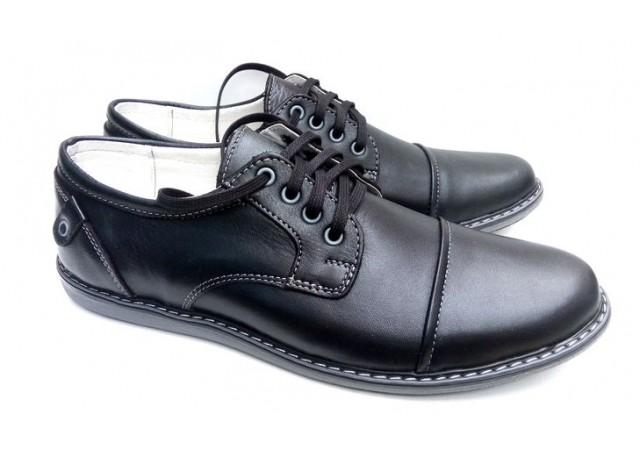 Pantofi sport - casual barbati din piele naturala DENIS - 338N