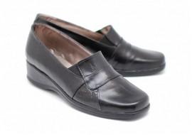 Pantofi dama piele naturala - casual - Made in Romania PHP10NEGRUBOXLAC