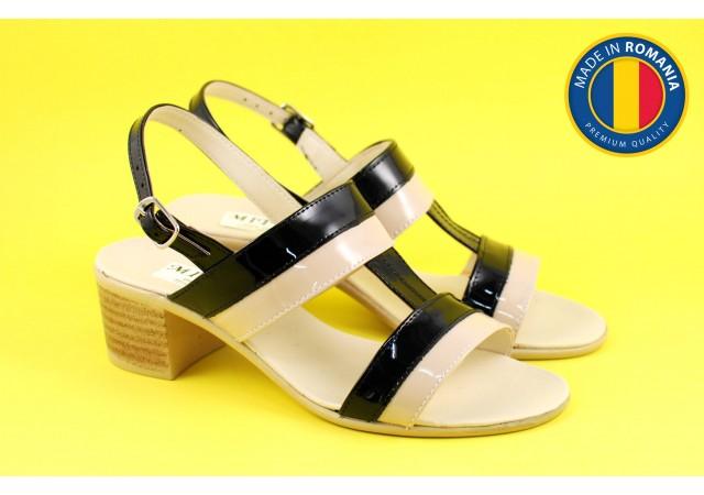 Sandale dama din piele naturala - S7LNNUD