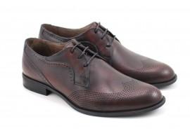 Pantofi barbati oxford, eleganti din piele naturala SIR020GMILE