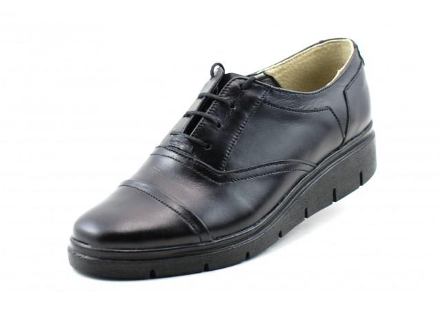 Pantofi dama din piele naturala, cu platforma - Ciucaleti by ROVI DESIGN