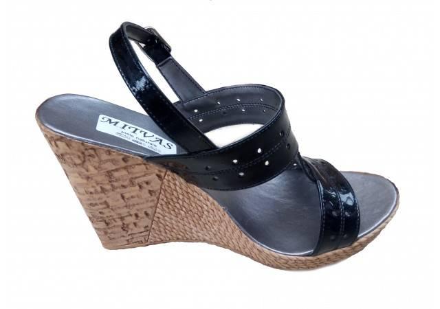 Sandale dama din piele naturala cu platforma S46NLAC