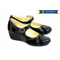Lichidare marimea 38 Pantofi dama casual din piele naturala foarte comozi - LP13NN