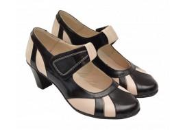 Oferta marimea 36 -  Pantofi dama,  din piele naturala,  foarte comozi - LP13NBEJ