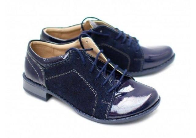 Pantofi dama piele naturala, casual Bleumarin - Made in Romania DAMALACPINTB
