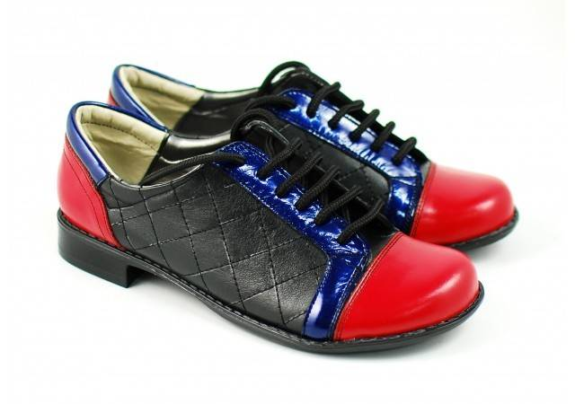 Pantofi dama piele naturala casual - Made in Romania P53ANR