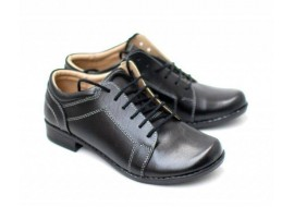 Oferta marimea 35, Pantofi dama piele naturala, casual - Made in Romania LDAMABOXN