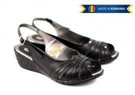Lichidare marimea 36, 38  Sandale dama din piele naturala, cu platforma - LS52N