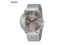 Ceas de mana barbati elegant, argintiu - Curren - M8303A Silver