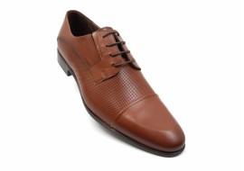 Pantofi barbati eleganti din piele naturala maro - 085MPBOX