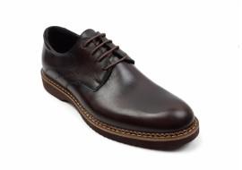 Pantofi barbati casual - eleganti din piele naturala maro SIR26M