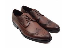Pantofi barbati derbi, eleganti din piele naturala 749M