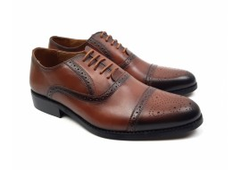 Pantofi barbati eleganti din piele naturala 856M