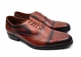 Pantofi barbati eleganti din piele naturala 850M