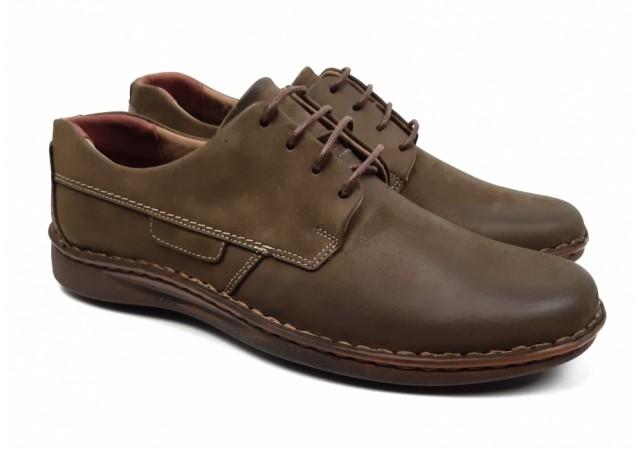 Oferta marimea 42 Pantofi barbati eleganti din piele naturala 901NS