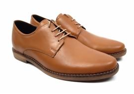 Pantofi barbati casual din piele naturala box - 336MBOX