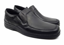 Pantofi barbati casual - confortabili din piele naturala box - Cod: 340N