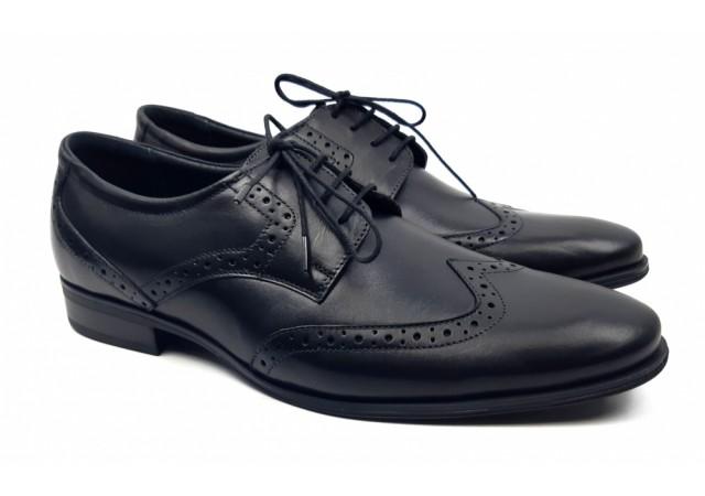 Pantofi barbati eleganti din piele naturala model OXFORD 369N