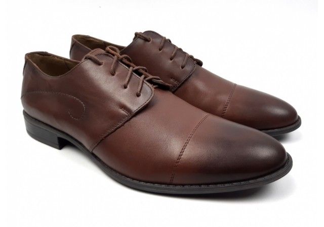 Pantofi barbati eleganti din piele naturala - Massimo Maro