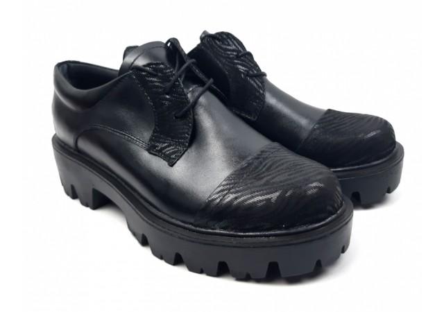 Pantofi dama casual confectionati din piele naturala - ROVI1NS