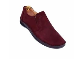 Pantofi barbati sport - casual din piele naturala intoarsa 2350VIS