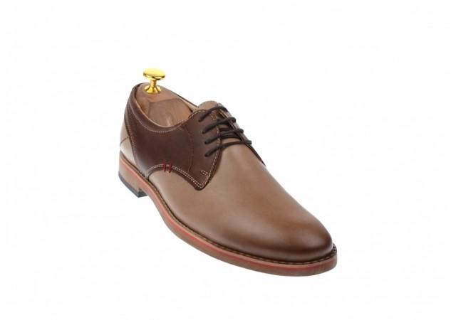 Pantofi barbati din piele naturala SIR Casual Bej